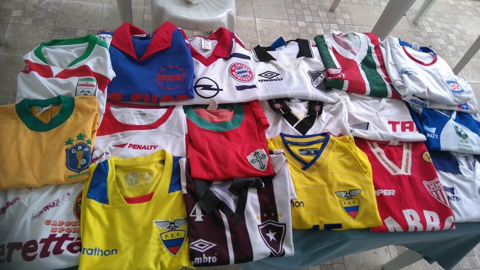 704acb7f73 2º Encontro de Colecionadores de Camisas de Futebol neste domingo (28) no  IFF