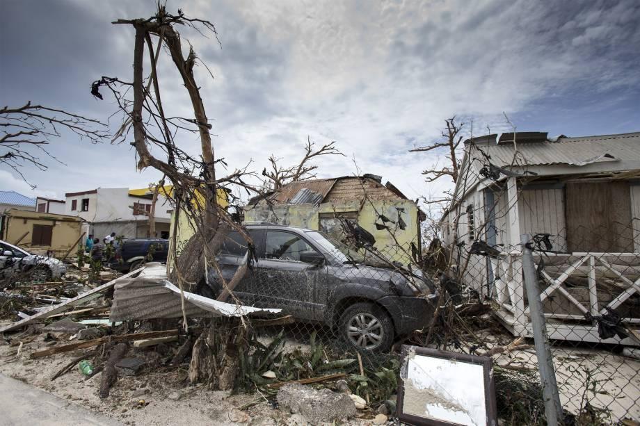 Furacão Irma: milhares se negam a buscar refúgio nas Antilhas francesas