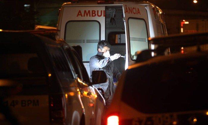 Homem executado dentro de ambulância